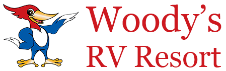 Woodys RV Resort Logo